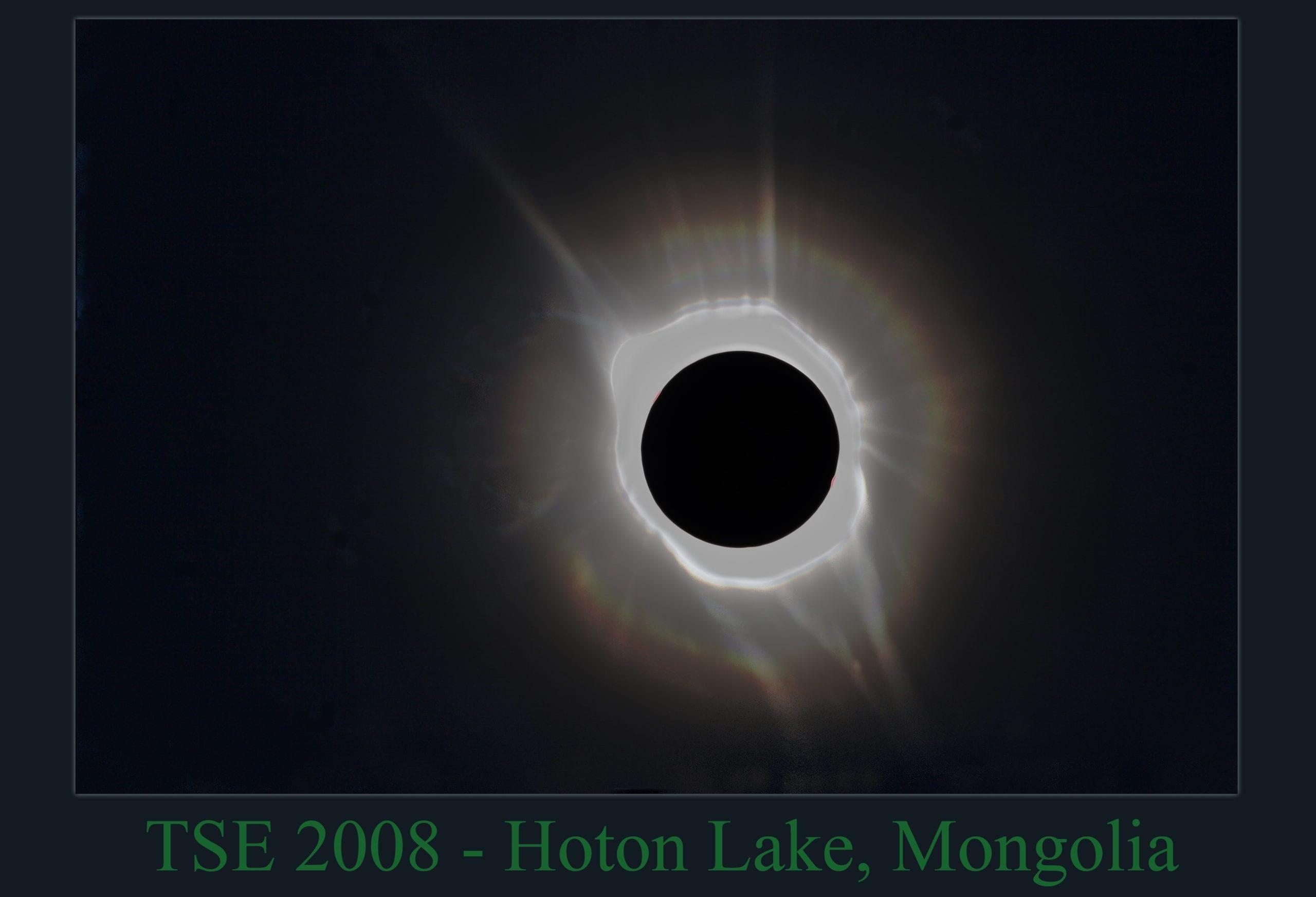 TSE 2008-Eclipse Mongolia Hoton Lake