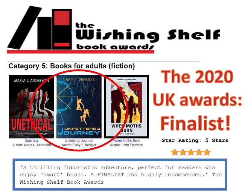 Wishing Shelf Book Awards-Finalist